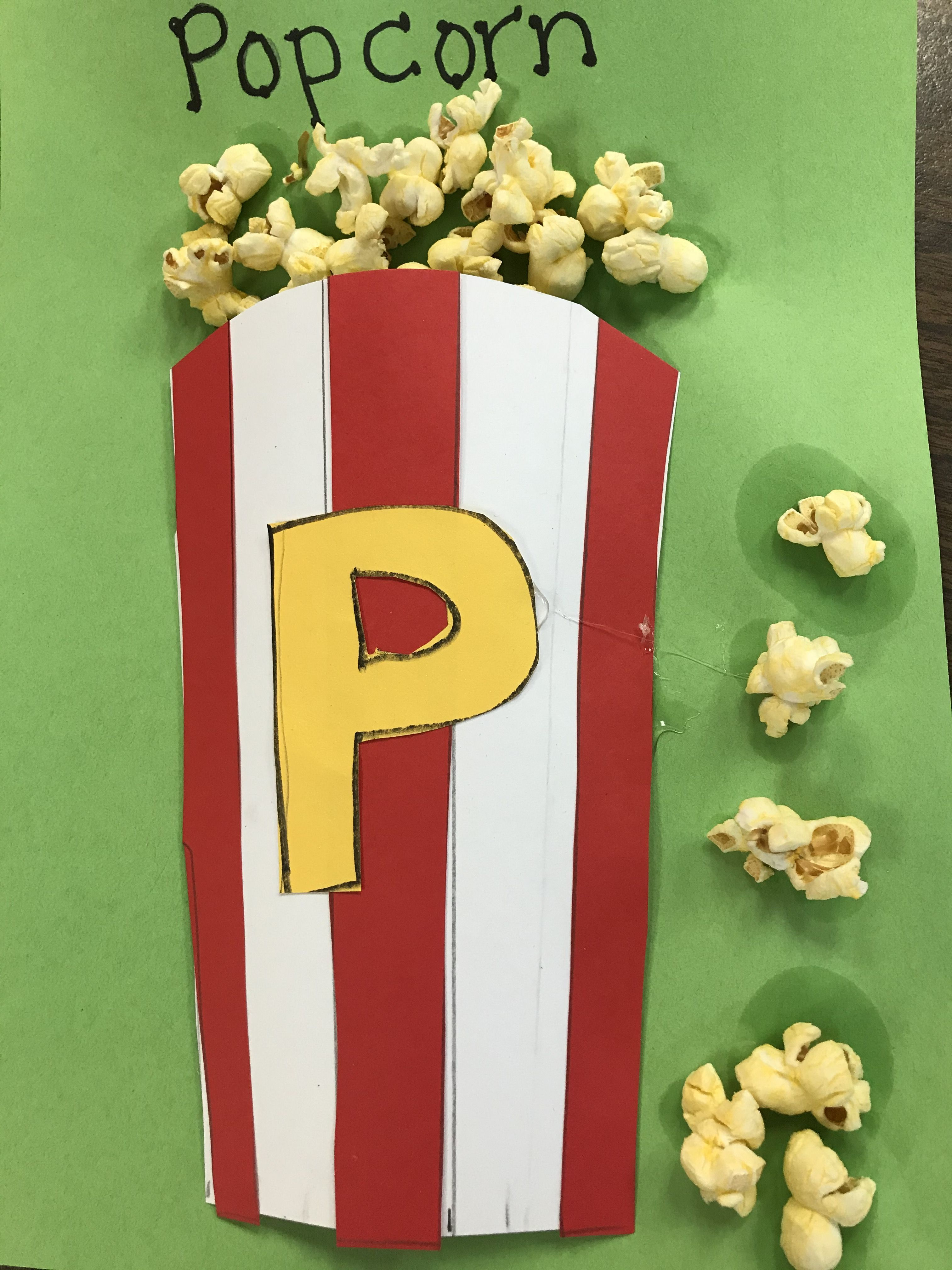 P Is For Popcorn In