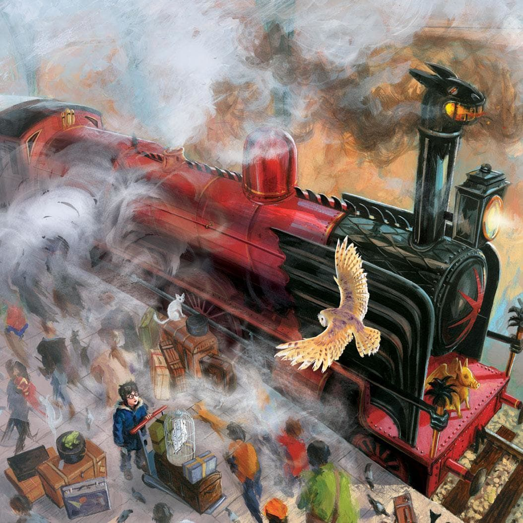 Hogwarts Express From Harry Potter Illustrated Edition Book 1