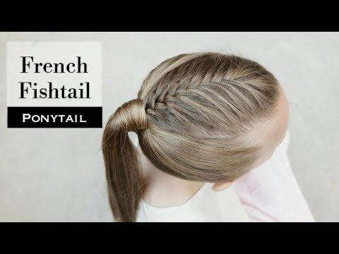 French Fishtail Ponytail By Holster Brands Youtube