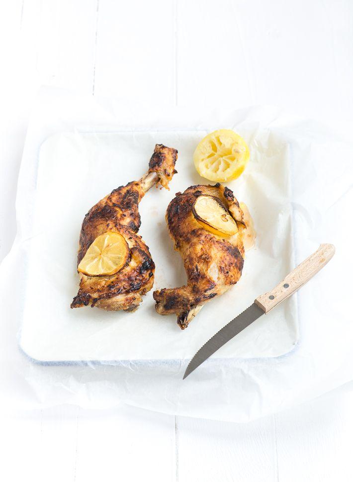 Lekker en makkelijk recept voor gemarineerde Tahin yoghurt kip. Yum!