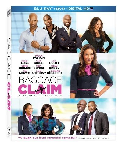 Baggage Claim Blu-Ray/ DVD Combo pack giveaway ends 2/27