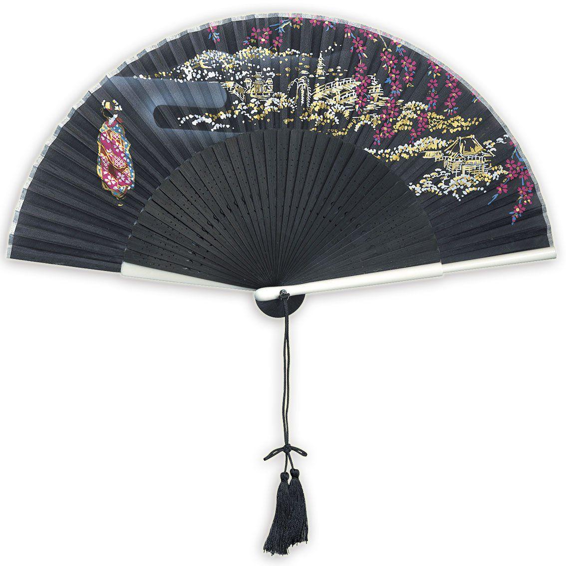 Japanese Traditional Silk folding fan   For the Love of Random ...