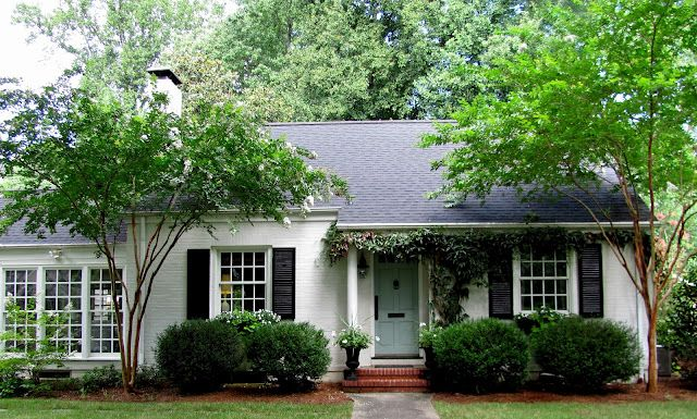 Cottage And Vine White Exterior Paint House Paint Exterior White Exterior Houses