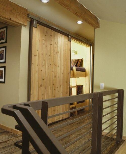 Cool Bunk Bed Cool Barn Door Hidden Rooms Secret Rooms Home