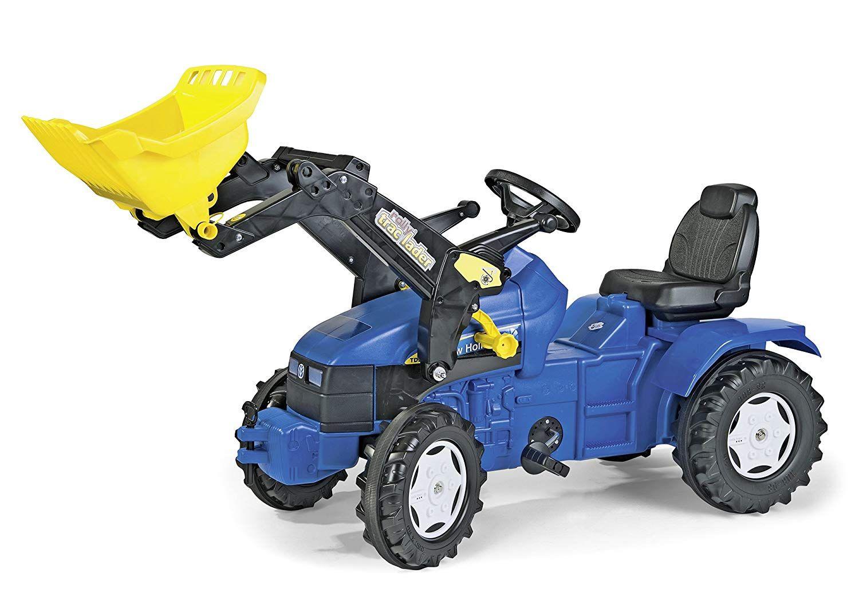 Der Spielzeugtester hat das Treker;Bulldog;Tretbulldog