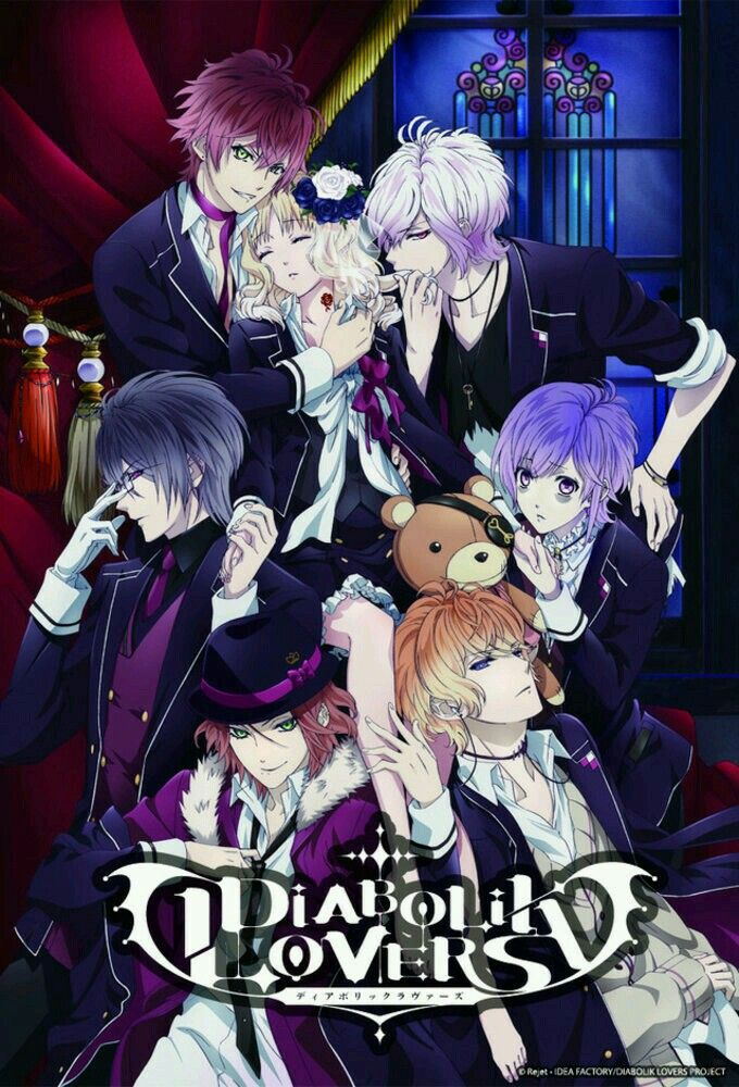 Pin by Tifa Yap on anime (With images) Diabolik lovers