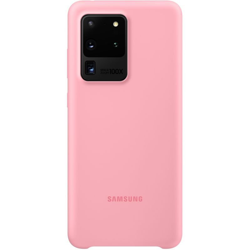 Accessoire smartphone Samsung S20 Ultra Silicone rose | Boulanger ...