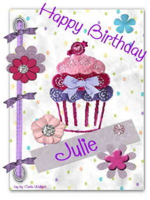 Happy Birthday Julie Happy Birthday Julie Kids Birthday Cards