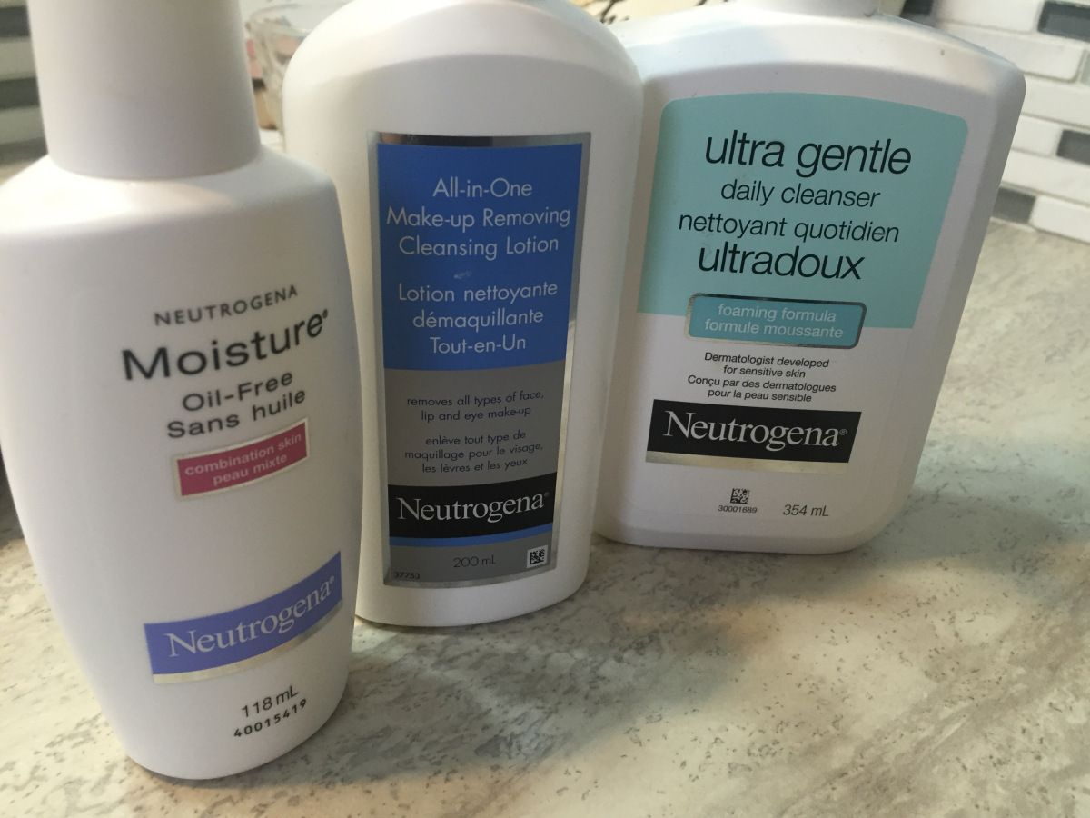 Neutrogena Skincare Routine and Review