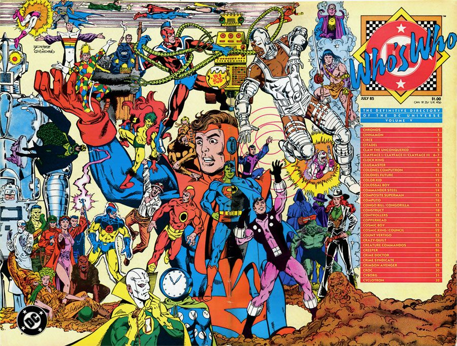 Who's Who: The Definitive Directory of the DC Universe V