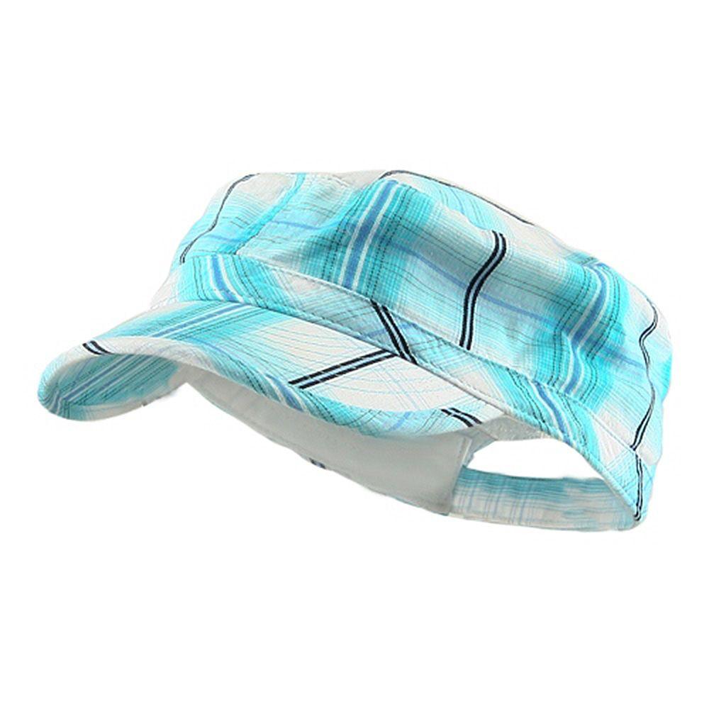 63d19df3ab2 Twill Fashion Engineer Cap-Blue