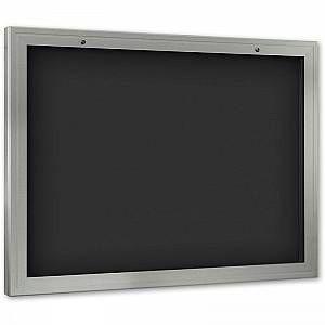 CERTEO Vitrine d'affichage - ouverture porte 180° vers le bas - pour format A0