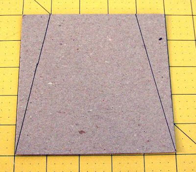 5 square measure 1 in at the top for a tumbler template quilts