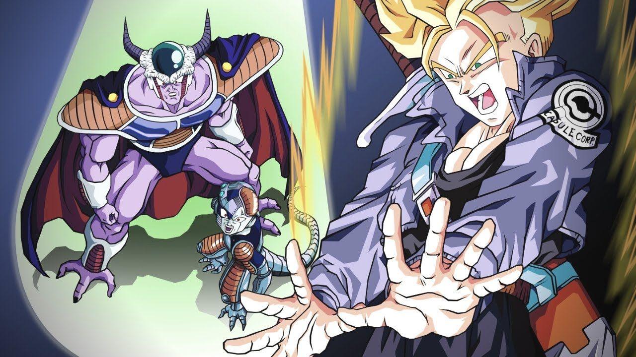 Epic Moment Of Dragon Ball Z Trunks Vs Freezer Dragon Ball Z Dragon Ball Anime