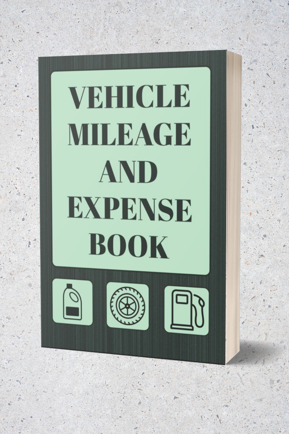 Vehicle Mileage And Expense Book Auto Mileage Log And Expense Record In 2020 Books Mileage Notebooks Journals