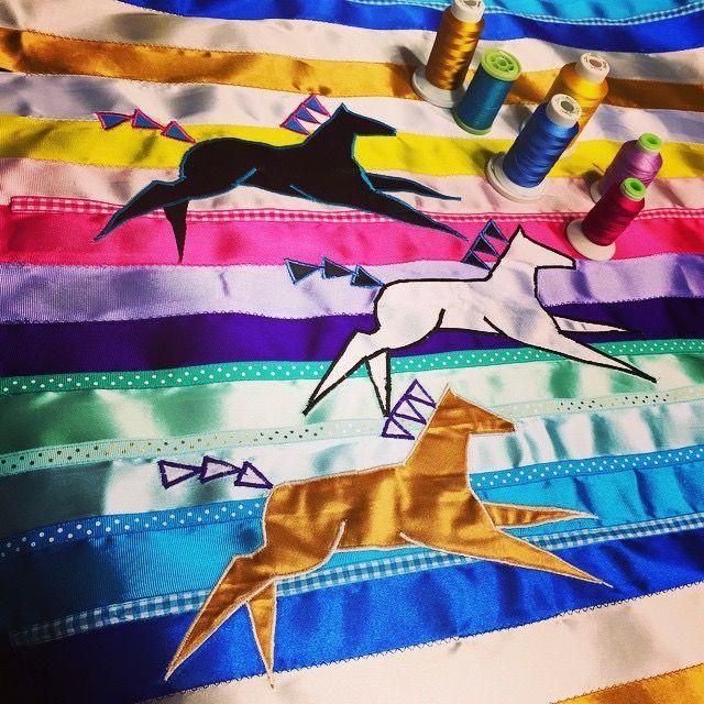 Horse Ribbon Skirt