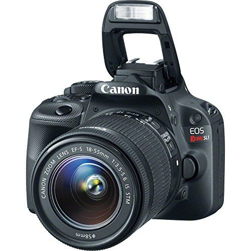 Canon EOS Rebel SL1 18MP Digital SLR with US Warranty &Canon EF-S 18-55mm f/3.5-5.6 IS STM Lens & EF 75-300mm f/4-5.6 III & HD 58mm wide angle & Telephoto Lens +Total 32GB of Memory +Deluxe Bundle  http://www.lookatcamera.com/canon-eos-rebel-sl1-18mp-digital-slr-with-us-warranty-canon-ef-s-18-55mm-f3-5-5-6-is-stm-lens-ef-75-300mm-f4-5-6-iii-hd-58mm-wide-angle-telephoto-lens-total-32gb-of-memory-d/