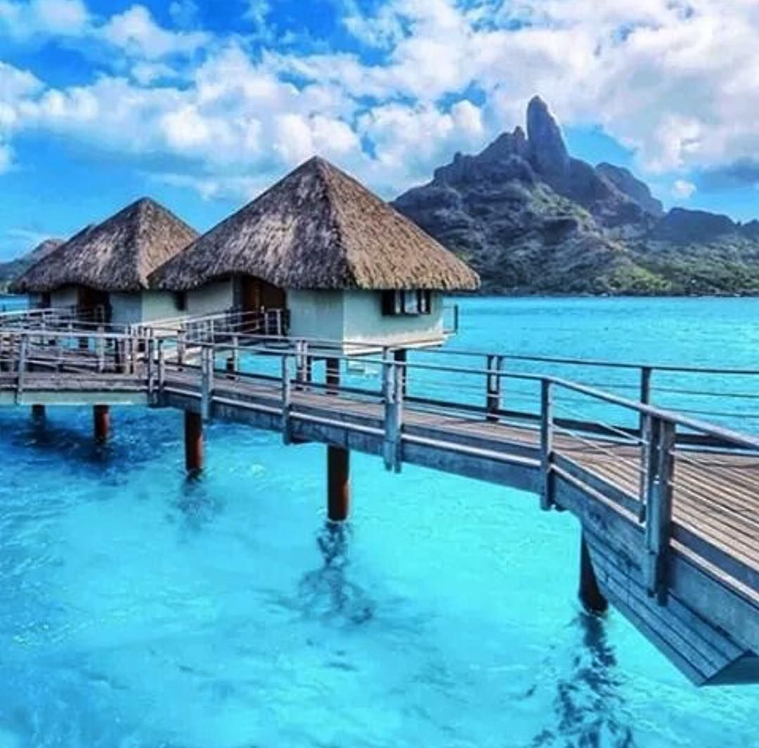 Looks like a great place for vacation at Le Meridien Resort Bora Bora by @mthiessen. Go check out @randomnature for more cool nature photos!  If you want to be featured here DM or tag me in your photo.  #mytravelgoals #mtg #mytravelgram #travel #travels #travelbug #insta_global #bora #borabora #lemeridien by my_travel_goals