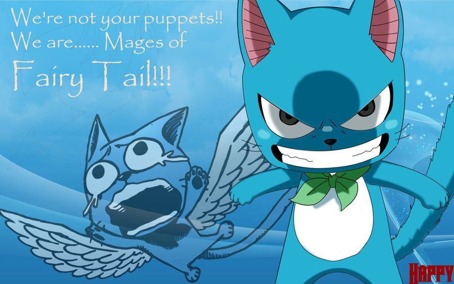 Anime Quotes About Happiness: Happy's Quote~Fairy Tail By Evitacarla