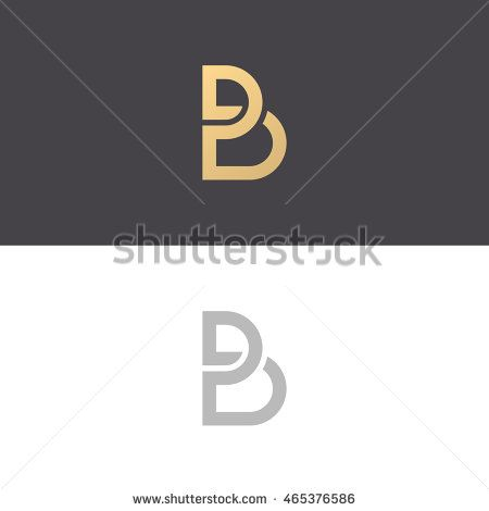 Letter B Logo Icon Design Template Elements  Vector Sign