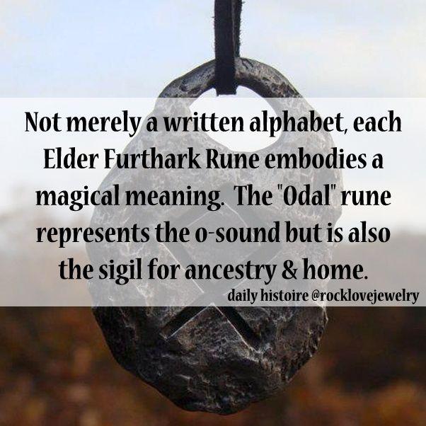 Norse Viking Furthark Runes