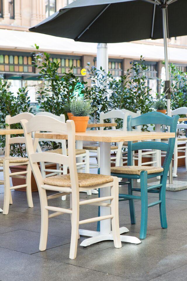 Medusa Restaurant furniture fit out design // Great food