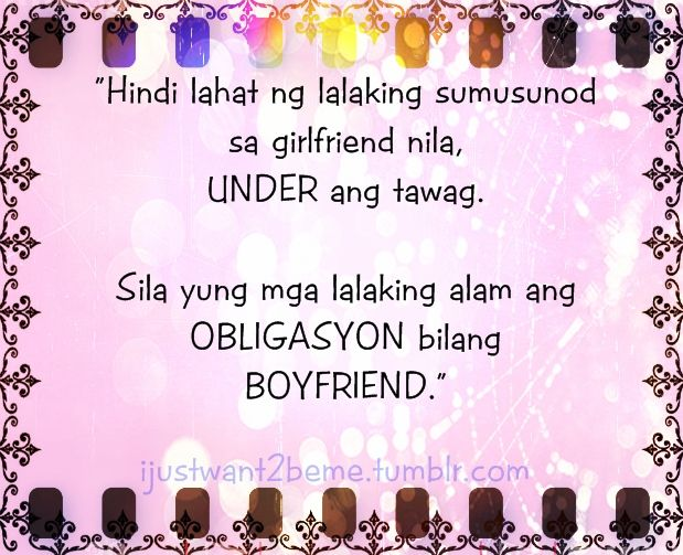 Cute Boyfriend Quotes for Facebook tagalog | AM JUST SOMEONE ...