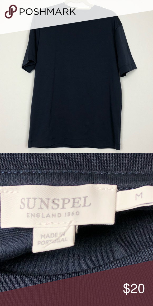3fd36aa6bf5 Sunspel Blue 100% Cotton Men s Shirt Blue 100% cotton shirt. Used in  pristine conditions no holes or stains. 309H Sunspel Shirts Tees - Short  Sleeve