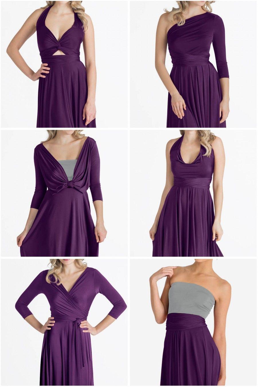 Iris Midi Convertible Dress - Made to Order