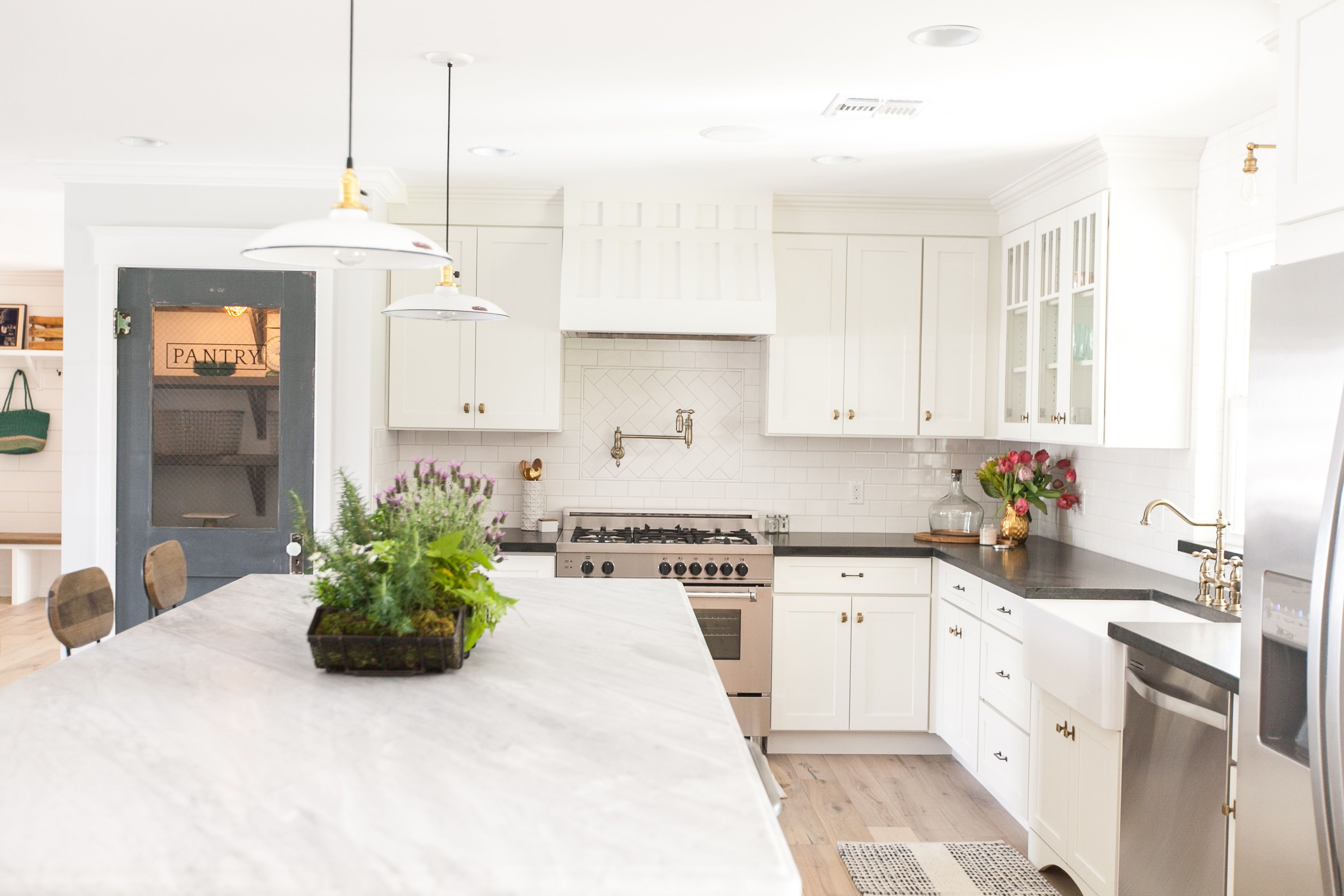Light and bright, open kitchen area - as featured on \'Rafterhouse ...