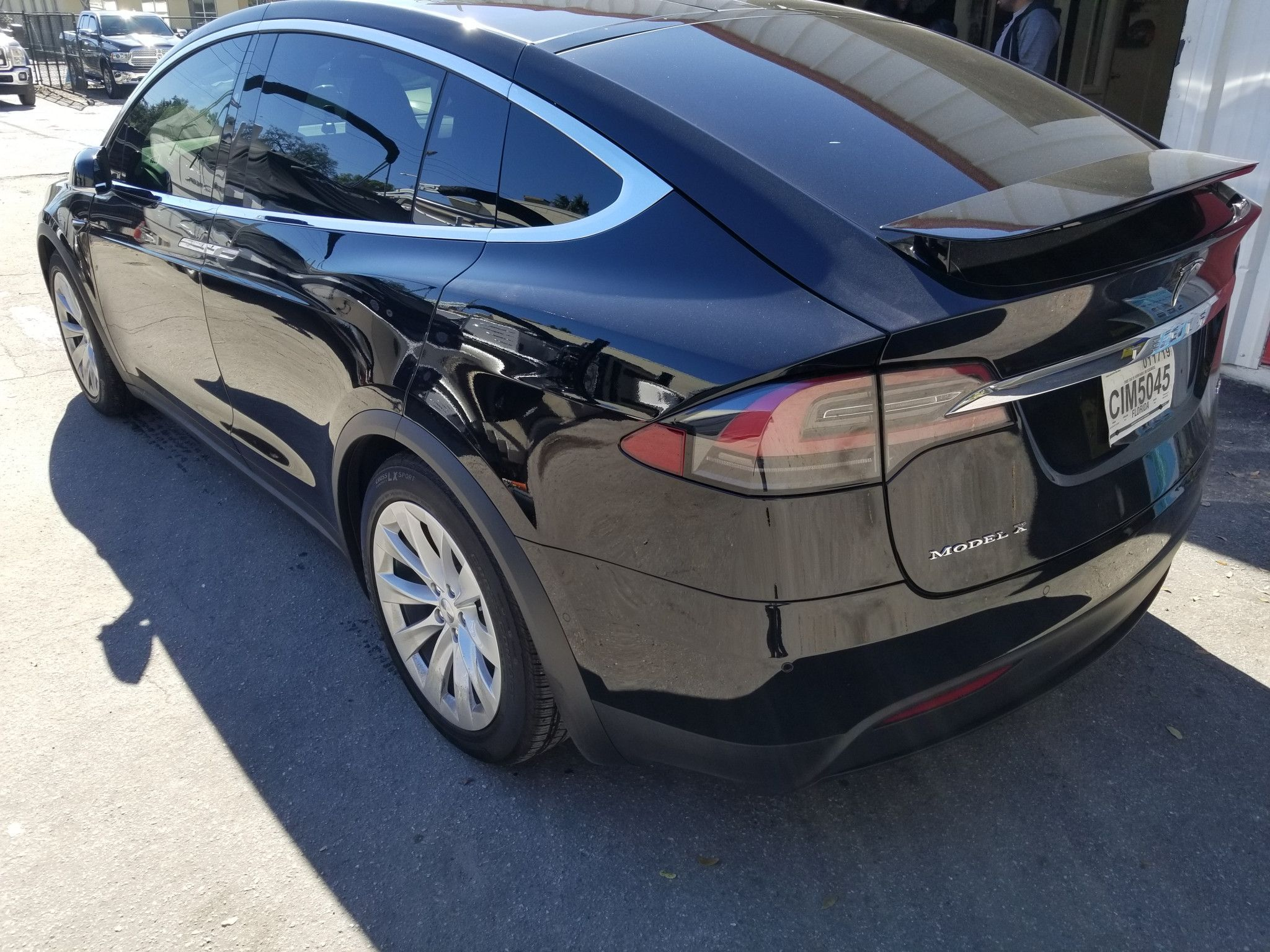 We Recently Tinted This Tesla Model X With Top Of The Line