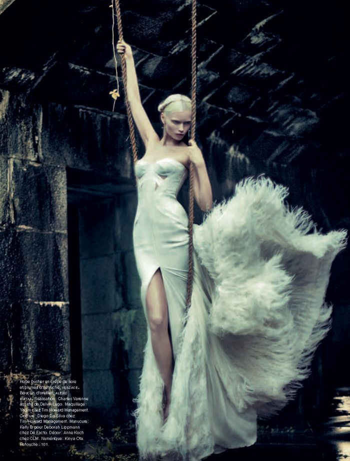 incredible...Makes me think of The Lion, The Witch, and The Wardrobe. Fashion. Photography