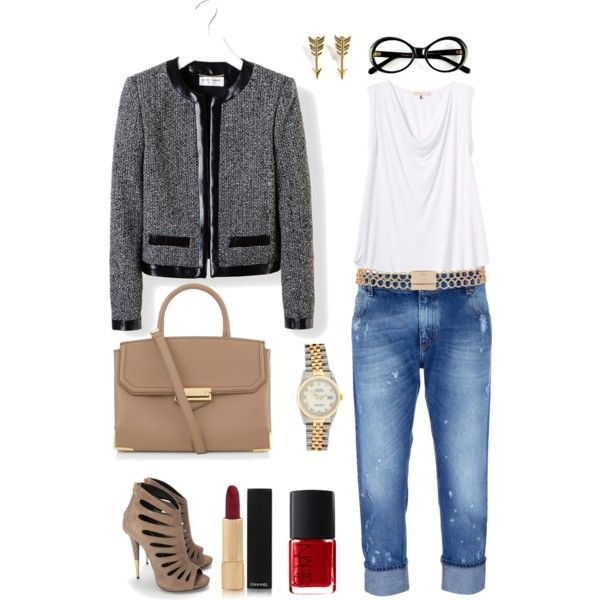 """I like jeans"" by nori-coco on Polyvore"