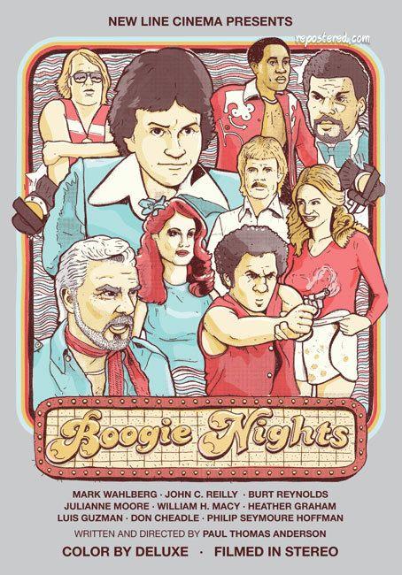 Boogie Nights Afiche De Cine Cine Afiches