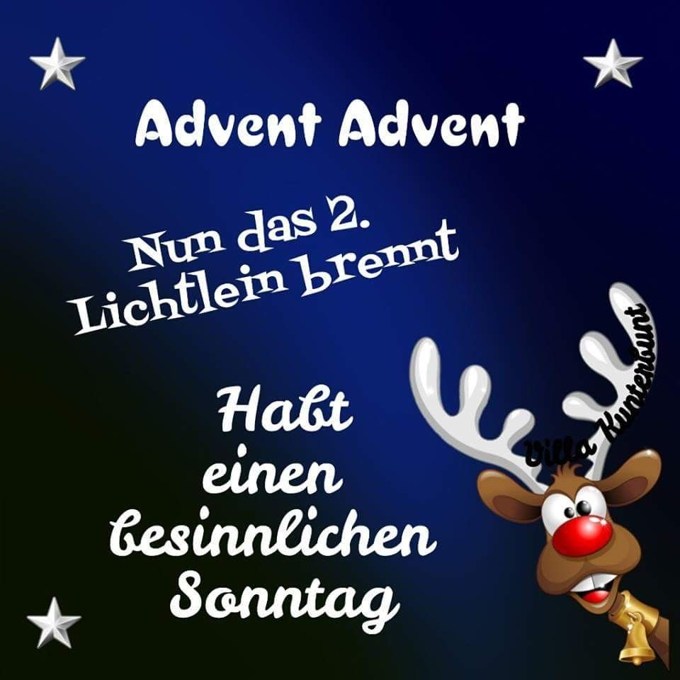 2 Advent Advent Lustig Weihnachten Spruch Advent Spruche