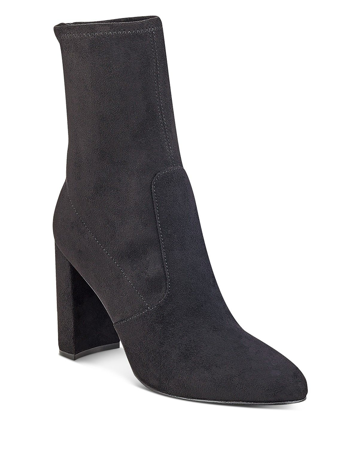 IVANKA TRUMP Sayida High Block Heel Booties | Bloomingdale's
