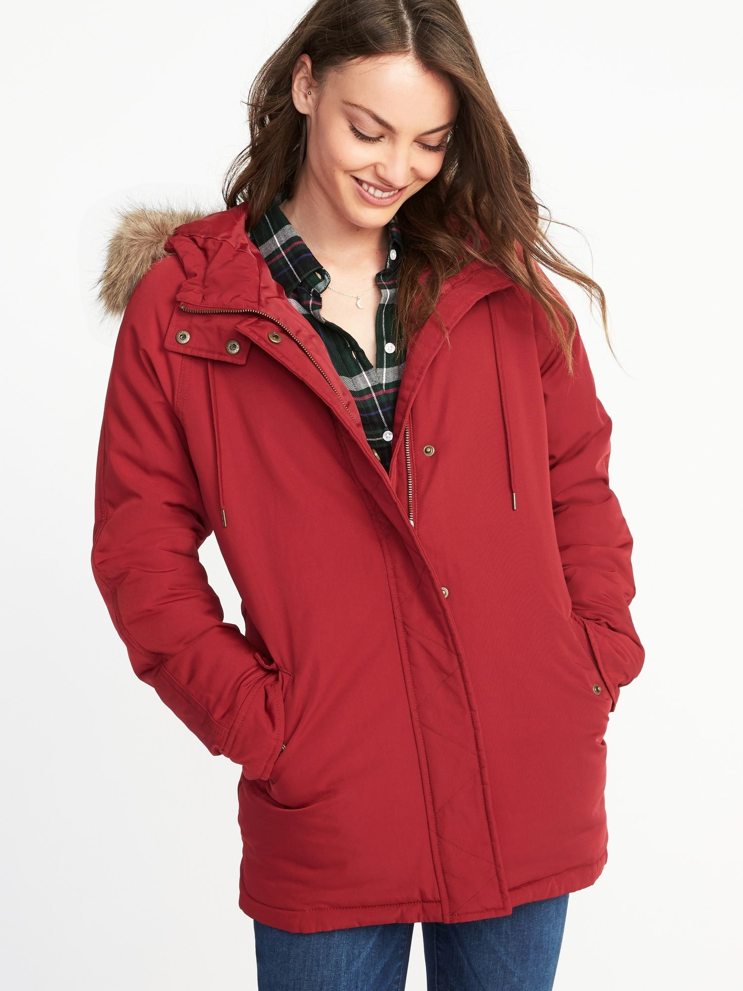 85fc2709f7e49 Hooded Frost-Free Utility Parka for Women | Old Navy | D R E A M ...