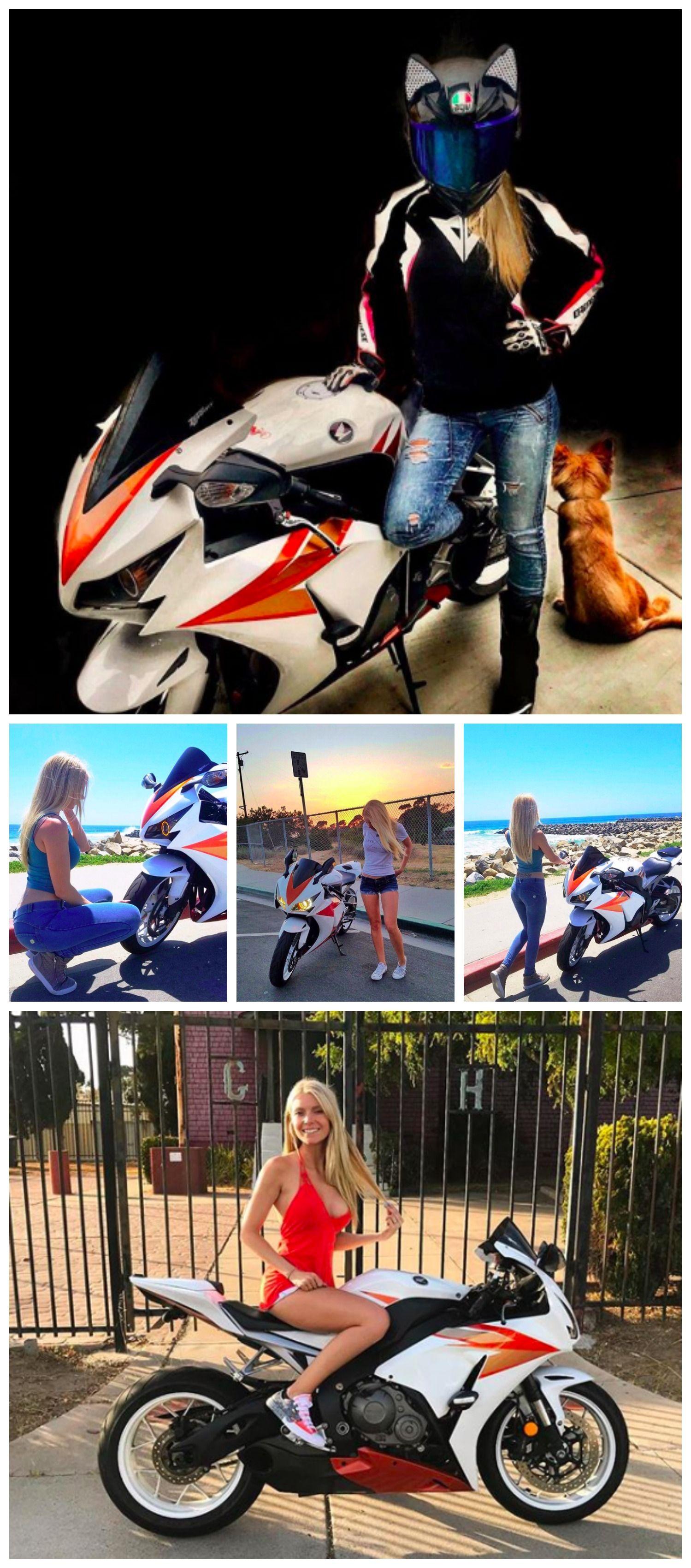 Photo Mrs_CBR Мотоциклы Motorcycle helmets, Sport