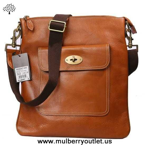 076fdd635206 Mulberry Mens Seth Natural Leather Messenger Bag Light Coffee Outlt Black  Friday