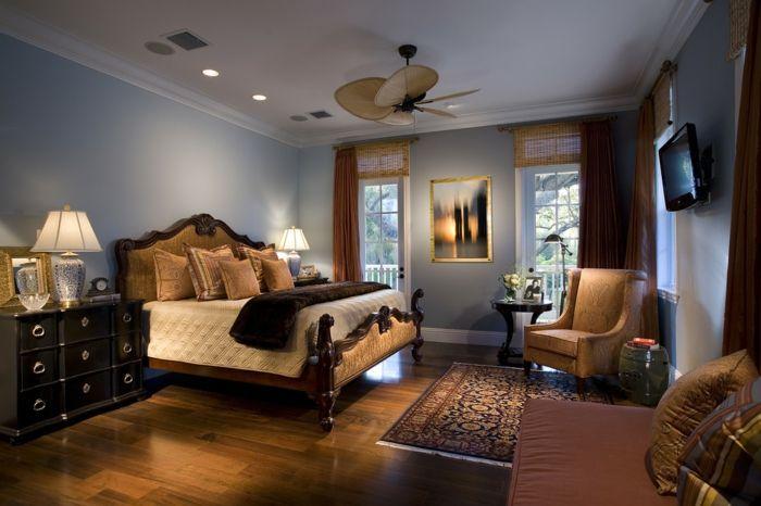 Interessante Zimmerfarbe Modernes Schlafzimmer Wandfarbe Latte Macchiato