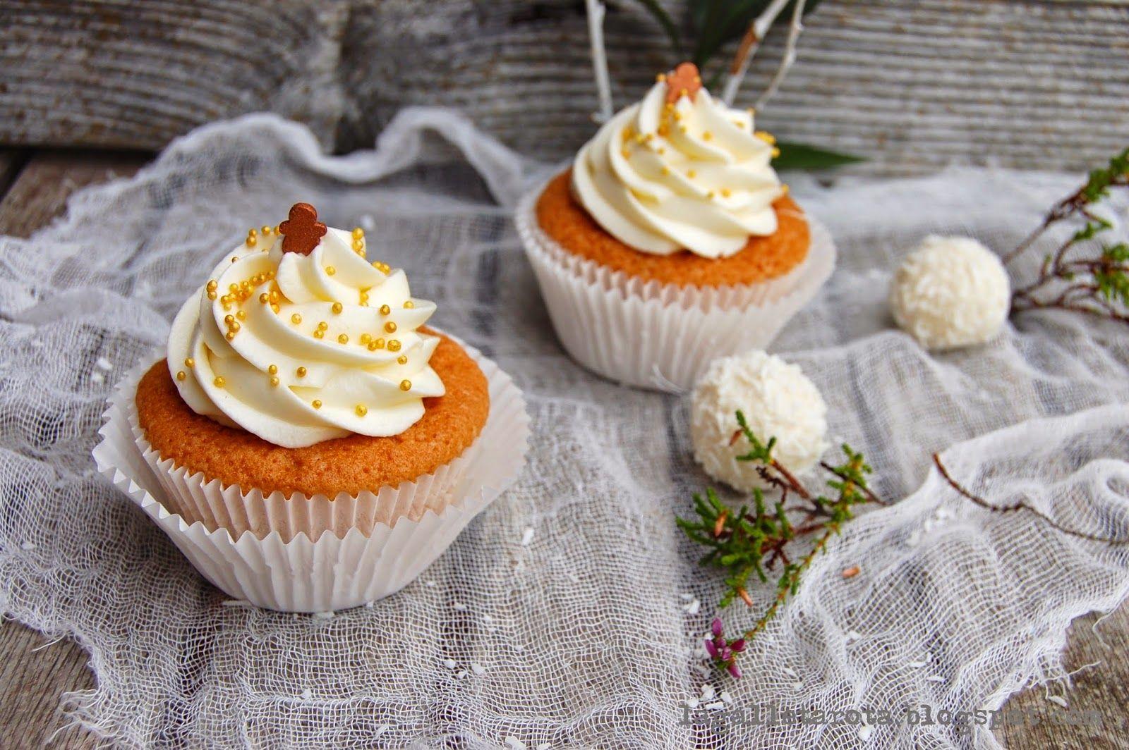 La Galleta Rota: Cupcakes de coco y limón...