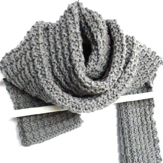 Ballet Leg Warmers Knitting Pattern : Knit this modern and sleek scarf today with this free pattern and tutorial! ...