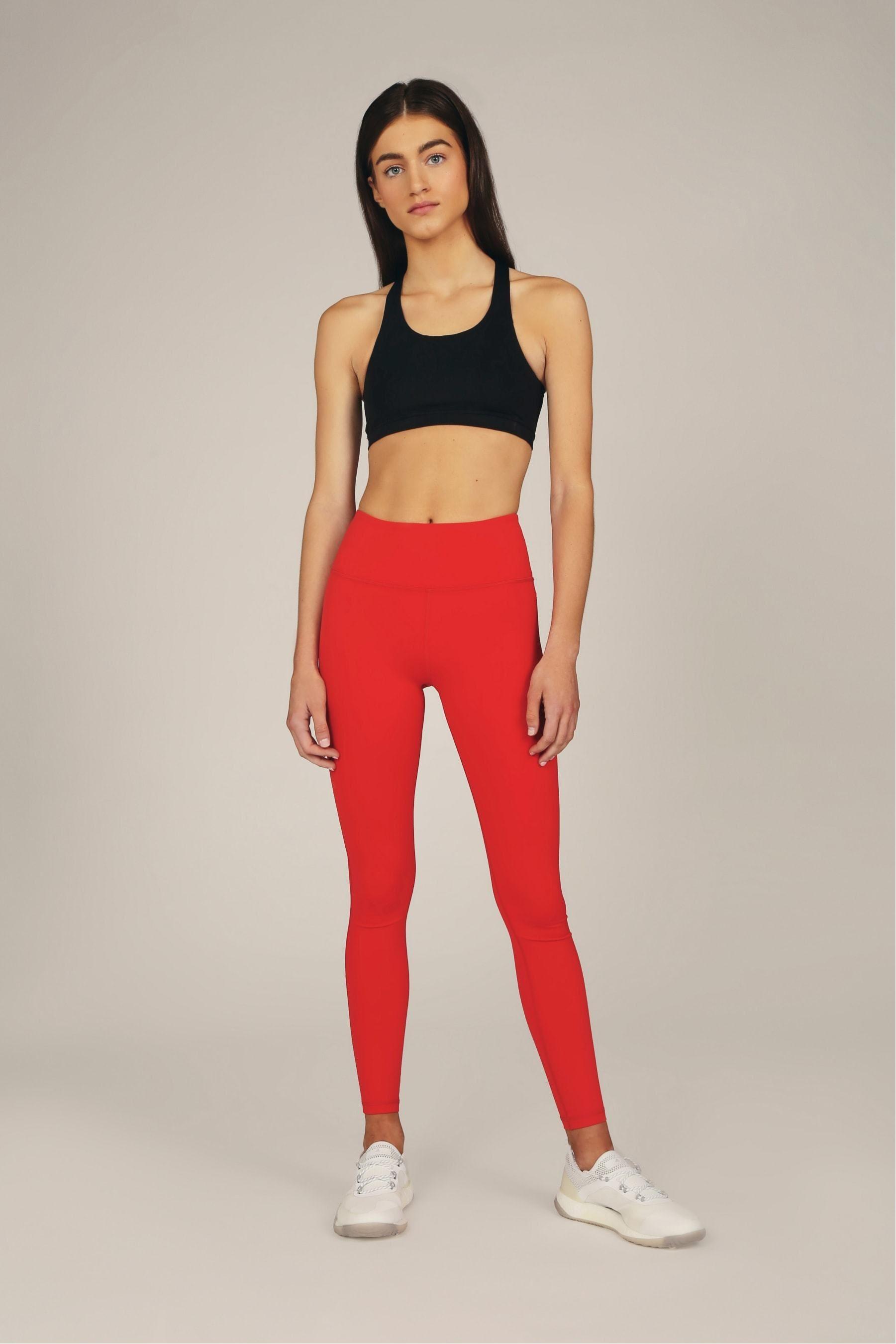 Photo of die klassische legging – rot / normal / l