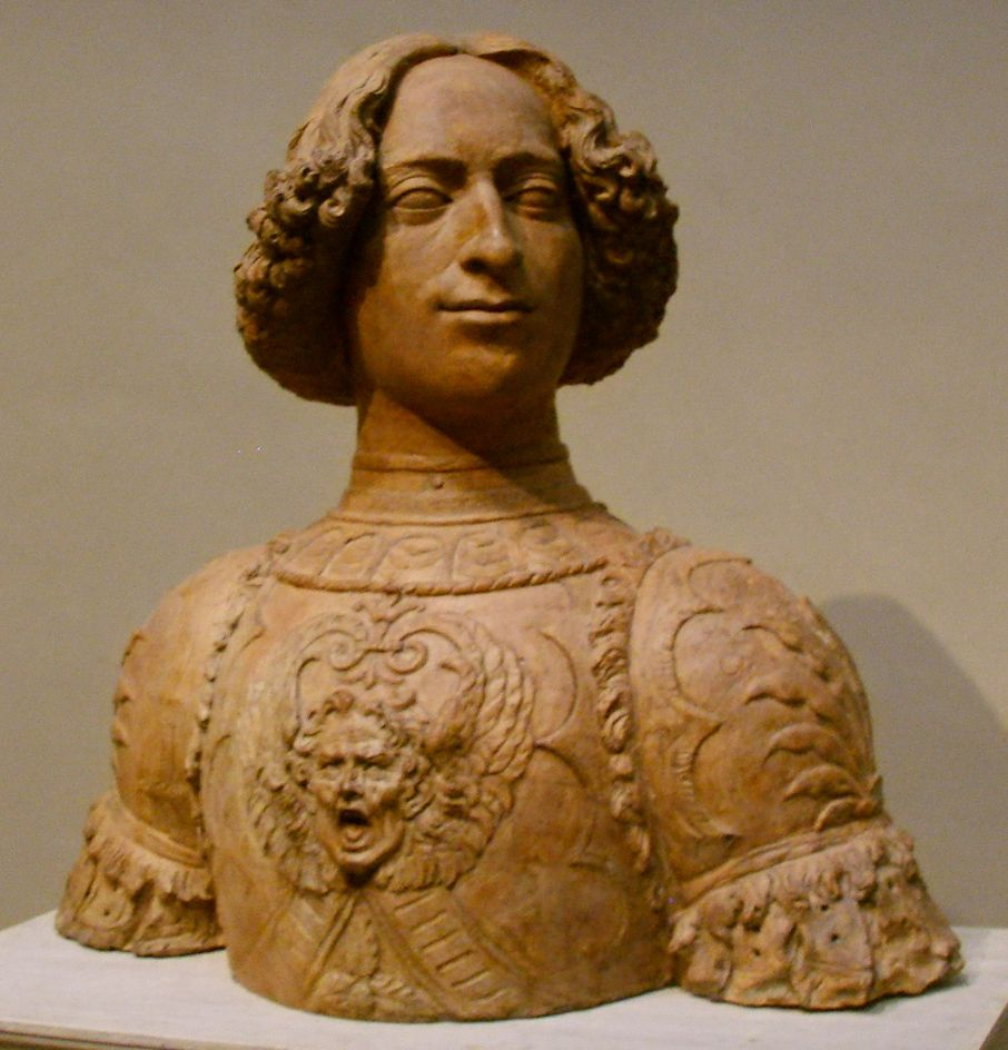 Giuliano di Piero de 'Medici, brother of Lorenzo (Florence, October 28, 1453 - Florence, April 26, 1478) was an Italian politician. Busto del Verrocchio