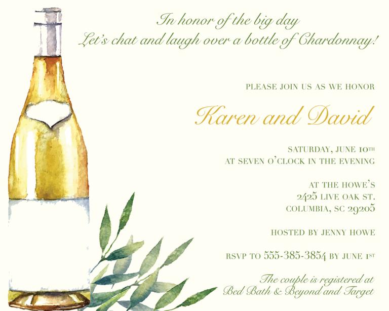 35 Bridal Shower Invitation Wording Ideas Shower invitations