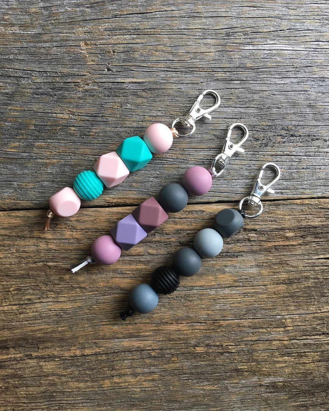 More silicone bead keychains 🗝✨ $8 each plus postage ✨  Custom orders available  Pm to purchase! ✨  #keychain #silicone #siliconebeads #buyfromthebush #local #tasmania #buylocal #handmade #handmadewithlove #smallbusiness #australia #custom #create #insta #art #shopsmall #shopnow