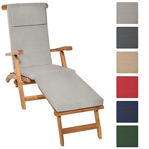 Beautissu® Matelas Coussin pour Bain de soleil Chaise lon... /  sc 1 st  Pinterest : chaise lon - Sectionals, Sofas & Couches