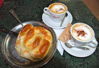 Burek with Coffee for Breakfast - Sarajevo, Bosnia
