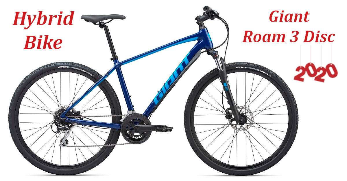 Giant Roam 3 2020 The Latest Mid Level Sports Hybrid From The Leading Brand In The Industry Looking For A Comfortable Short Dista In 2020 Hybrid Bike Bike City Bike