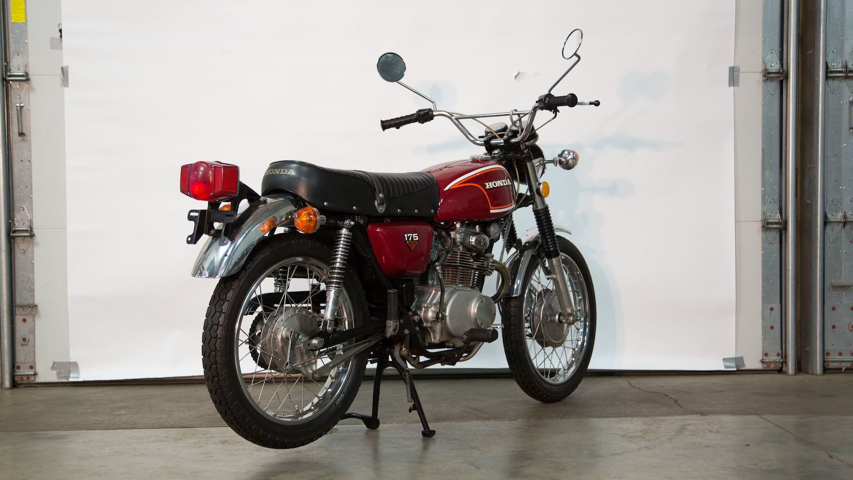 1972 Honda Cl175 Presented As Lot G109 At Las Vegas Nv Honda Mecum Auction Mecum [ 936 x 1664 Pixel ]